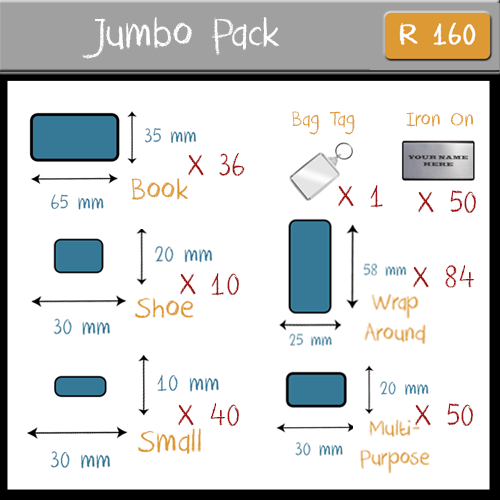 Let's Label It - Jumbo Pack